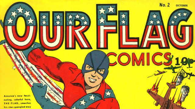 our flag comic title